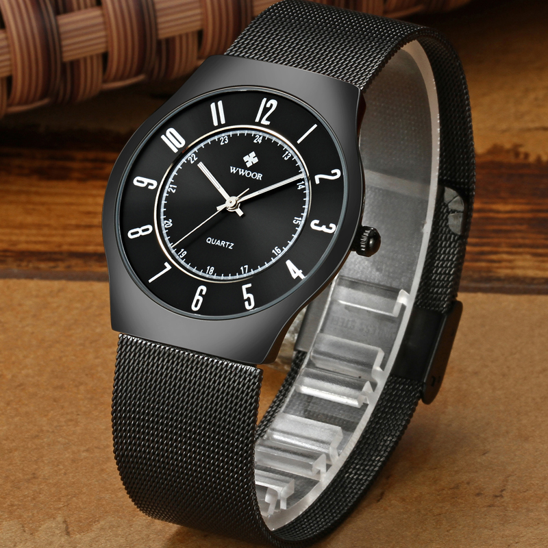 latest slim mens watches