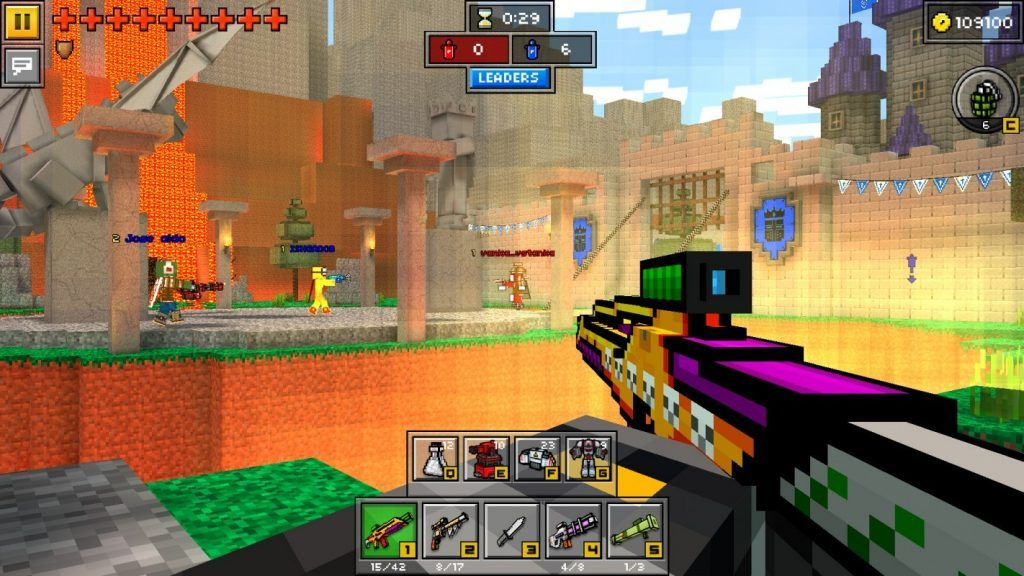 Pixel Gun 3D Gameplay